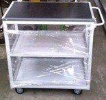 DOSTAWA GRATIS! 77157335 Wózek montażowy, 3 platformy (wymiary: 900x500x900 mm)