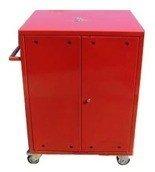 DOSTAWA GRATIS! 77157346 Wózek narzędziowy, 2 półki, 2 szuflady (wymiary: 1000x600x500 mm)