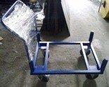DOSTAWA GRATIS! 77157389 Wózek do palet (udźwig: 1000 kg, wymiary: 1200x800 mm)