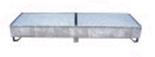 DOSTAWA GRATIS! 77157426 Wanna ociekowa, ocynkowana (wymiary: 2500x800x300 mm)