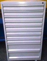 DOSTAWA GRATIS! 77170815 Szafa narzędziowa, 10 szuflad (wymiary: 1250x650x600 mm)
