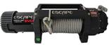 DOSTAWA GRATIS! 81874345 Wyciągarka Escape EVO 12500 lbs [5670 kg] IP68 z liną stalową 12V (średnica liny: 9,5mm, długość liny: 28m)