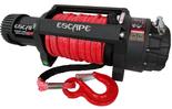 DOSTAWA GRATIS! 81874467 Wyciągarka Escape EVO 12500 lbs [5670 kg] IP68 z liną syntetyczną w oplocie z dużym hakiem 12V (średnica liny: 10mm, długość liny: 25m)