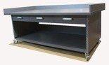 DOSTAWA GRATIS! 91059976 Stół roboczy na kółkach z trzema szufladami (blat: 150x78 cm, wys: 78 cm)