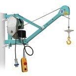 JANTA Wciągarka linowa budowlana z podnoszonym wysięgnikiem pod stałym kątem 45º (udźwig: 200 kg, wysokość podnoszenia: 30 m) 05668344