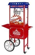 Maszyna do popcornu z wózkiem, amerykański design Royal Catering (moc: 1600W, wydajność: 5 - 6 kg/h) 45670651