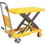 Stół podnośny nożycowy (udźwig: 150 kg, wymiary platformy: 700x450x35 mm, wysokość podnoszenia: 720 mm) 85078787