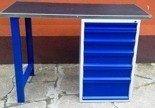 Stół warsztatowy, 6 szuflad (wymiary: 1500x600x1030 mm) 77156940