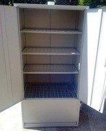 Szafa do suszenia obuwia, 4 półki (wymiary: 2000x970x600 mm) 77157287