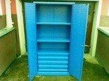 Szafa narzędziowa, 4 szuflady, 2 półki przestawiane (wymiary: 2000x970x460 mm) 77157203