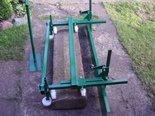 WOJAGO Szalunek do robienia ławy za krawęż, większa regulacja (szerokość ławy może być regulowana od 10 do 20 cm) 20977584