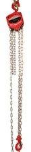 Wciągnik łańcuchowy ręczny (udźwig: 1,0 T, długość łańcucha: 3m) 03076066