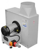 Wentylator promieniowy (max. wydajność powietrza: 8000 m3/h, moc silnika: 5,5 kW) 02869844