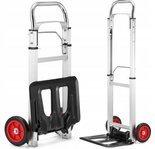 Wózek magazynowy transportowy składany alu (udźwig: 90 kg) 99673977