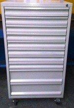 Wózek narzędziowy, 10 szuflad (wymiary: 1250x600x600 mm) 77157352