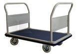 Wózek platformowy dwuburtowy (udźwig: 300 kg, wymiary platformy: 1160x760 mm) 03076054
