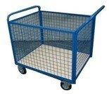 Wózek platformowy osiatkowany (wymiary: 1000x700x850 mm) 77157383