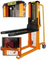 Wózek podnośnikowy masztowy z (udźwig: 600 kg, wysokość podnoszenia: 90-1300mm) 13362110