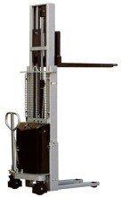 Wózek podnośnikowy z częściowym napędem elektrycznym (maszt podwójny, wysokość podn. maks: 2450mm, udźwig: 1000 kg) 310512