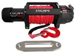Wyciągarka Escape EVO 12500 lbs [5670 kg] IP68 z liną syntetyczną 12V (lina: 10 mm czerwona dyneema 28m 10400kg +hak) 81877750