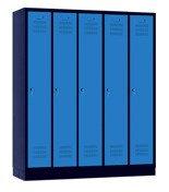 00141833 Szafa ubraniowa 5 segmentów, 5 drzwi (wymiary: 1800x1480x480 mm)