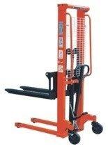 DOSTAWA GRATIS! 00543620 Wózek podnośnikowy ręczny z widłami regulowanymi oraz dodatkowa pompą nożną (udźwig: 1500 kg, min./max. wysokość wideł: 90/1600 mm)