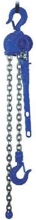 DOSTAWA GRATIS! 2209132 Wciągnik dźwigniowy z łańcuchem ogniwowym RZC/0.8t (wysokość podnoszenia: 5,5m, udźwig: 0,8 T)