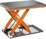 DOSTAWA GRATIS! 32240151 Hydrauliczny nożycowy stół podnośny Unicraft (udźwig: 2000 kg, wymiary: 1300x800 mm, podnoszenie min/max: 190/1010 mm)