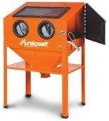 DOSTAWA GRATIS! 32240228 Komora do piaskowania bez zanieczyszczania środowiska pracy Unicraft (pojemność: 220 l)