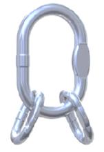 DOSTAWA GRATIS! 33954993 Ogniwo zbiorcze nierdzewne klasy 6 VWI 16 (udźwig: 13,2 T)