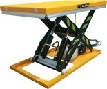 DOSTAWA GRATIS! 44366756 Elektryczny stół warsztatowy podnośny nożycowy (udźwig: 2000kg, wymiary platformy: 1300x800 mm, wysokość podnoszenia min/max: 190-1010 mm)