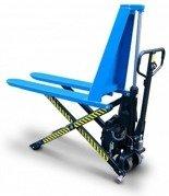 DOSTAWA GRATIS! 62666836 Wózek paletowy nożycowy elektryczny (udźwig: 1000kg, długość wideł: 1150mm, zakres podnoszenia: 85-820mm)