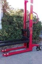 DOSTAWA GRATIS! 62671887 Wózek masztowy ręczny (udźwig: 2000kg, długość wideł: 1150mm, max podnoszenie: 1600 mm)