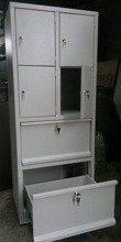 DOSTAWA GRATIS! 77157132 Szafa skrytkowa, 4 drzwi, 2 szuflady