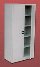DOSTAWA GRATIS! 77157145 Szafa gospodarcza, 4 przestawiane półki (wymiary: 1800x900x460 mm)