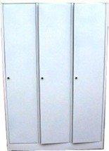 DOSTAWA GRATIS! 77170690 Szafa odzieżowa BHP, 3 drzwi (wymiary: 1800x900x480 mm)