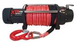 DOSTAWA GRATIS! 81846443 Wyciągarka XTR 12000lbs [5443kg] SPEED z liną syntetyczną czerwoną z hakiem zdejmowanym 24V (średnica liny: 8mm, długość liny: 25m)