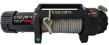 DOSTAWA GRATIS! 81874346 Wyciągarka Escape EVO 12500 lbs [5670 kg] IP68 z liną stalową 24V (średnica liny: 9,5mm, długość liny: 28m)