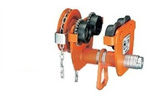 DOSTAWA GRATIS! 85068221 Wózek jezdny ręczny z napędem łancuchowym (udźwig: 2 T, wysokość podnoszenia: 3 m) 90-135 mm