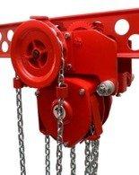 DOSTAWA GRATIS! 9569006 Wciągnik łańcuchowy przejezdny (udźwig: 0,5 T, wysokość podnoszenia: 4m)
