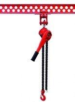 DOSTAWA GRATIS! 9588181 Wciągnik łańcuchowy dźwigniowy, rukcug, łańcuch Galla (udźwig: 3,2 T)