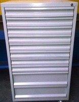 Szafa narzędziowa, 10 szuflad (wymiary: 1250x650x600 mm) 77170815