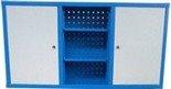 Szafka narzędziowa wisząca, 6 półek, 2 drzwi (wymiary: 600x1200x200 mm) 77170771