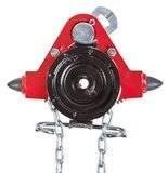 Wózek jednobelkowy z napędem ręcznym (wysokość podnoszenia: 3m, szerokość stopy belki: 58-226mm, udźwig: 1,6 T) 22076969