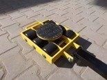 Wózek skrętny 6 rolkowy, rolki: 6x nylon (nośność: 6 T) 12267428