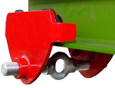 Wózek przejezdny do wciągnika (udźwig: 1,0 T, szerokość belki jezdnej: 160-300 mm) 03076116