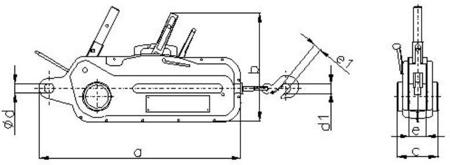 DOSTAWA GRATIS! 2203114 Wciągnik linowy 30.11/3.2t (długość liny: 20m, udźwig: 3,2 T)