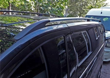 DOSTAWA GRATIS! 01672120 Relingi dachowe do Mercedes Vito W639 W447 SOLID ALU extra-long