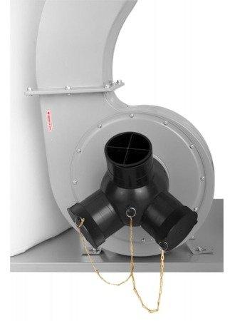 DOSTAWA GRATIS! 02869791 Odciąg do wiórów (wydajność odsysania: 3900 m3/h, moc silnika: 2,2 kW)