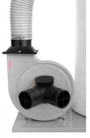 DOSTAWA GRATIS! 02869795 Odciąg wiór trocin, filtr pyłowy (wydajność odsysania: 2800 m3/h, moc silnika: 1,5 kW)